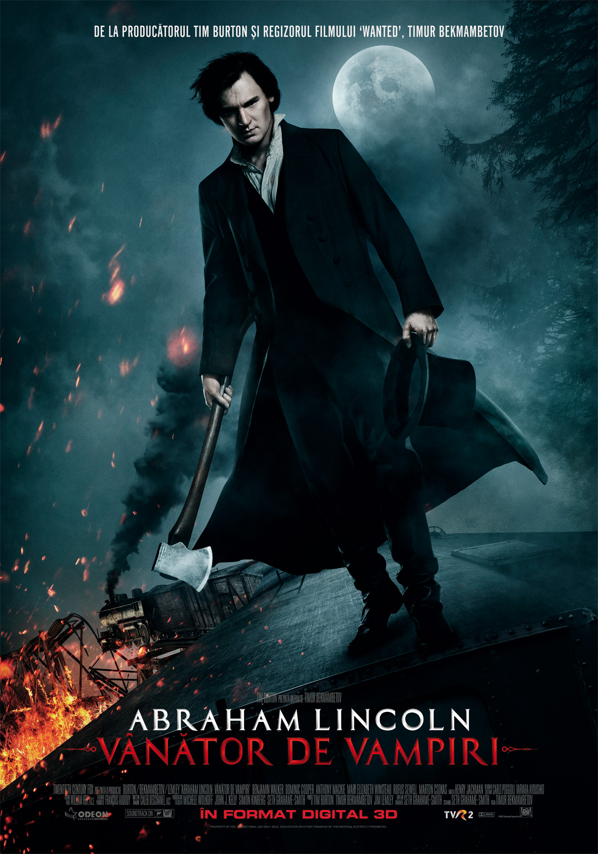 Abraham Lincoln: Vampire Hunter 2012